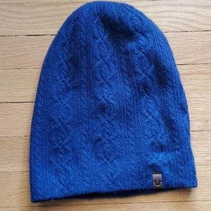 NWT True Religion Cable Slouchy Crocheted Beanie